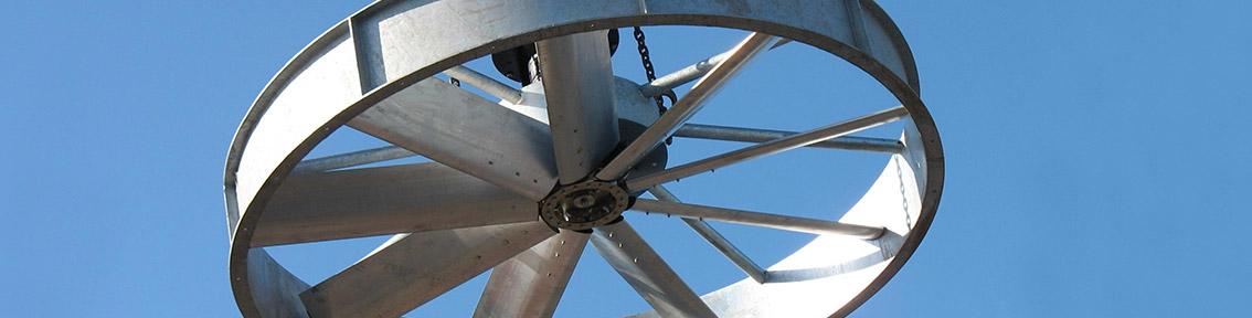 Einsetzen eines Ventilators