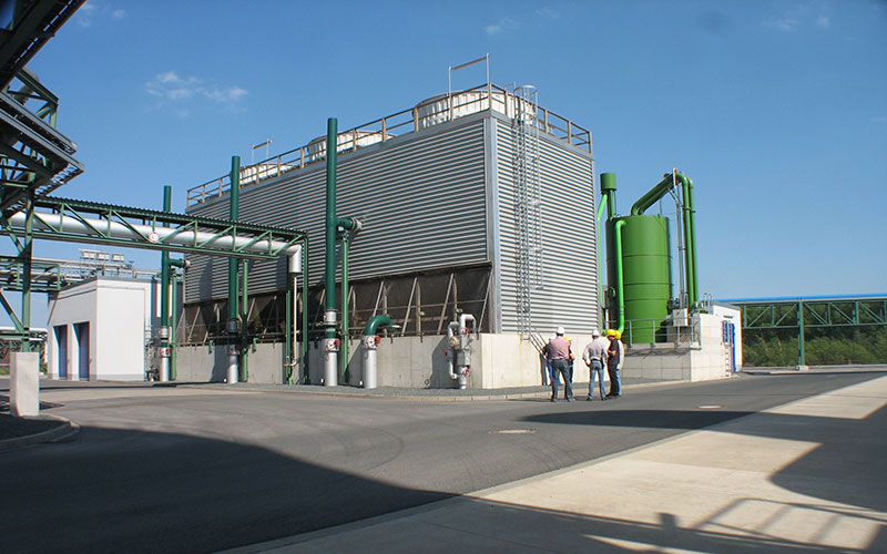 how to decide the capacity of cooling tower